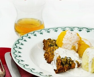 Vegan Haggis & Red Lentil Nut Loaf for Burns Night