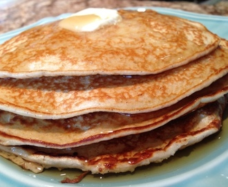 How To Make Fluffy American Pancakes