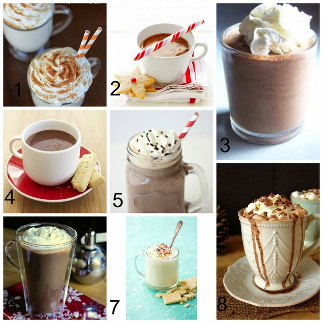 National Hot Chocolate Day!  {A Round Up of Great Hot Chocolate Recipes}