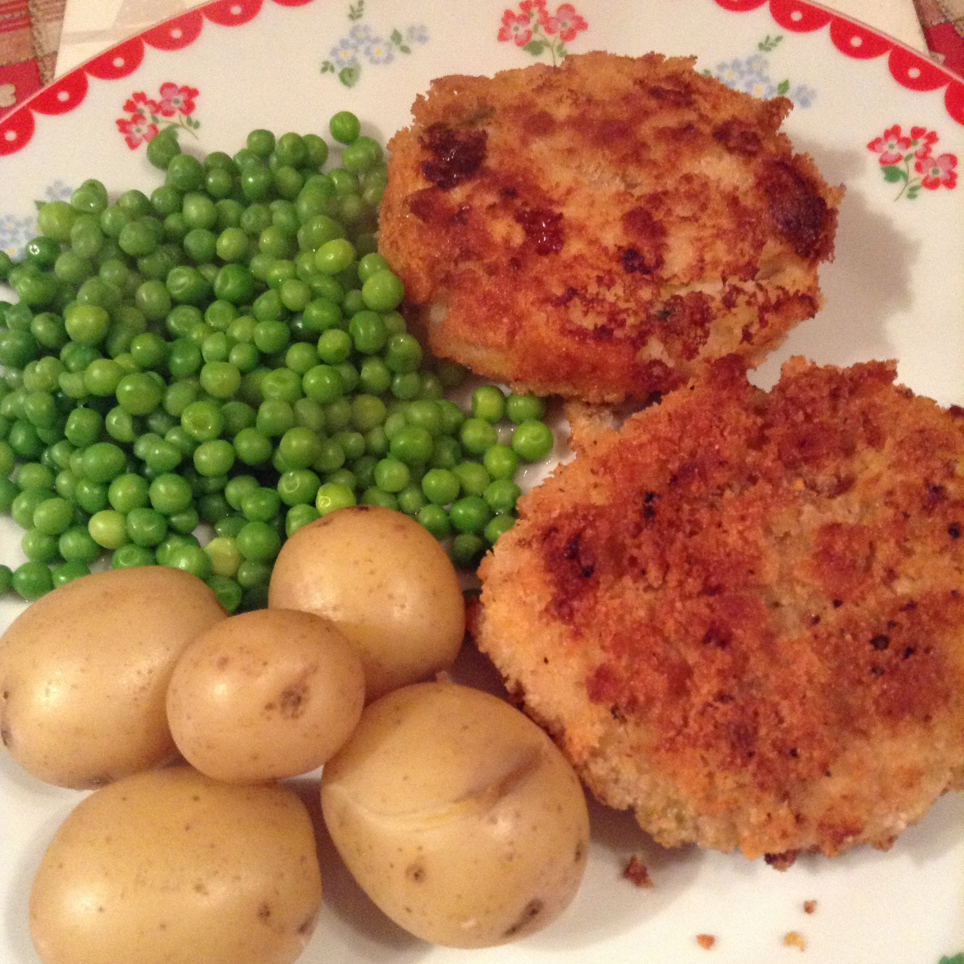 Homemade Fish cakes