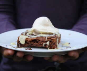 Lea backt: American Double Choc Brownies