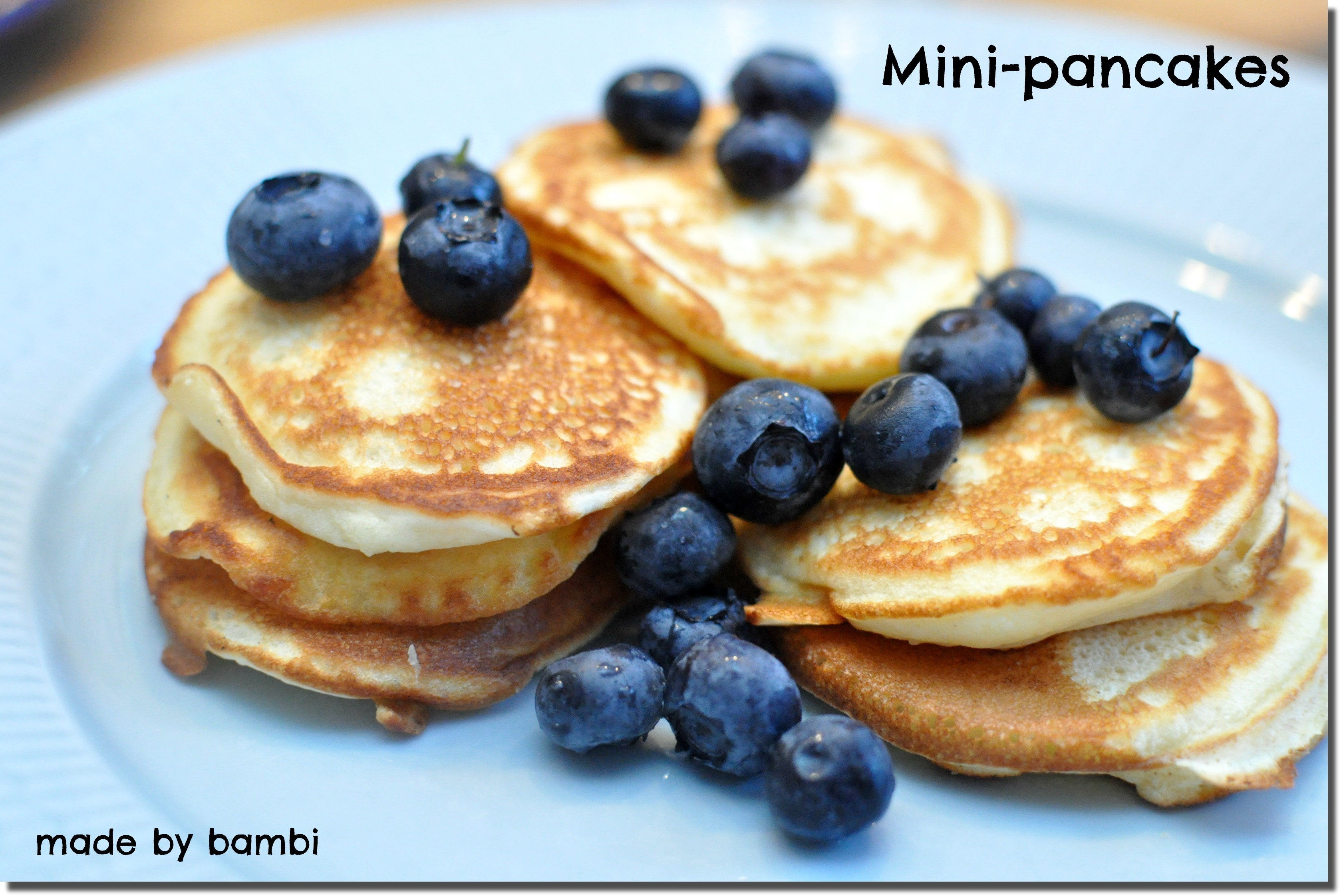 Mini-pancakes (6 ProPoints)