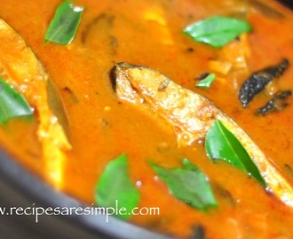 Kerala Fish Curry with Gambooge – Kudampuli Meen Curry
