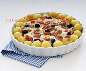 Pizza di patate alle olive
