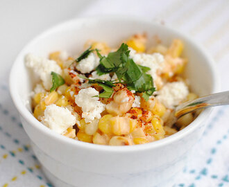 Mexican Street Corn Off the Cob
