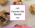 Coconut Oat Rounds