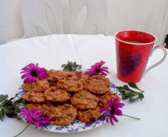 Galletas de avena con frutos secos