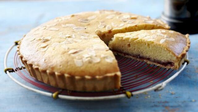 Bakewell Cake - all-in-one - Easy