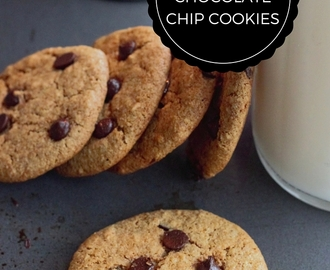 HOMEMADE GLUTEN FREE CHOCOLATE CHIP COOKIES + COOKBOOK GIVEAWAY