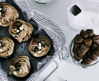 RECIPE: KINDER BUENO & NUTELLA CUPCAKES