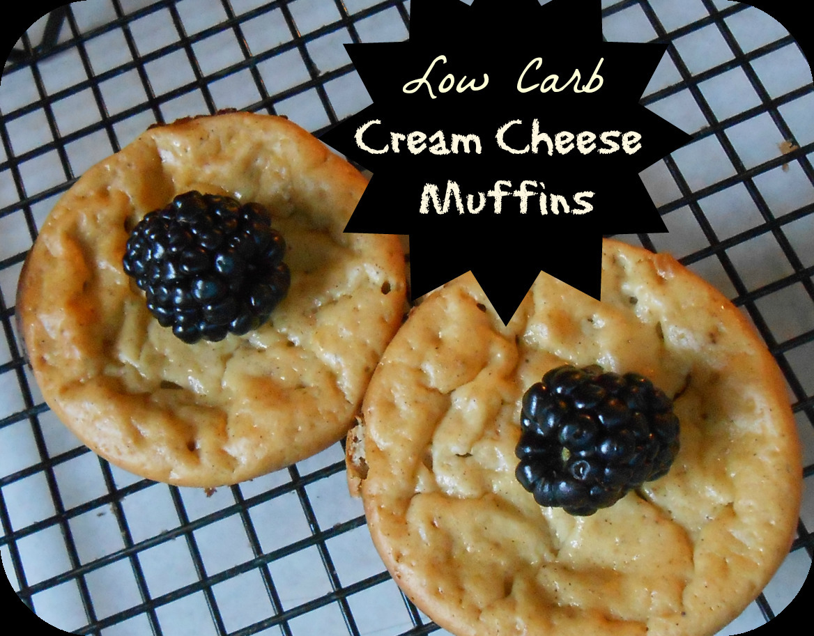 Low Carb Cream Cheese Muffins