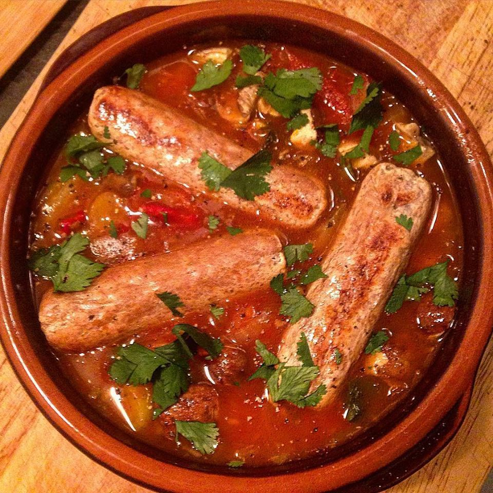 VEGGIE SAUSAGE ONE POT PAPRIKA WONDER