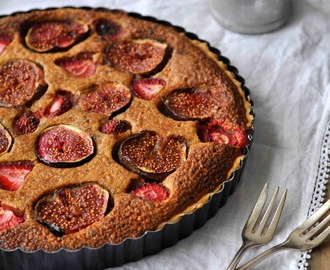 Feige Erdbeer Tarte - Fig Strawberry Tarte