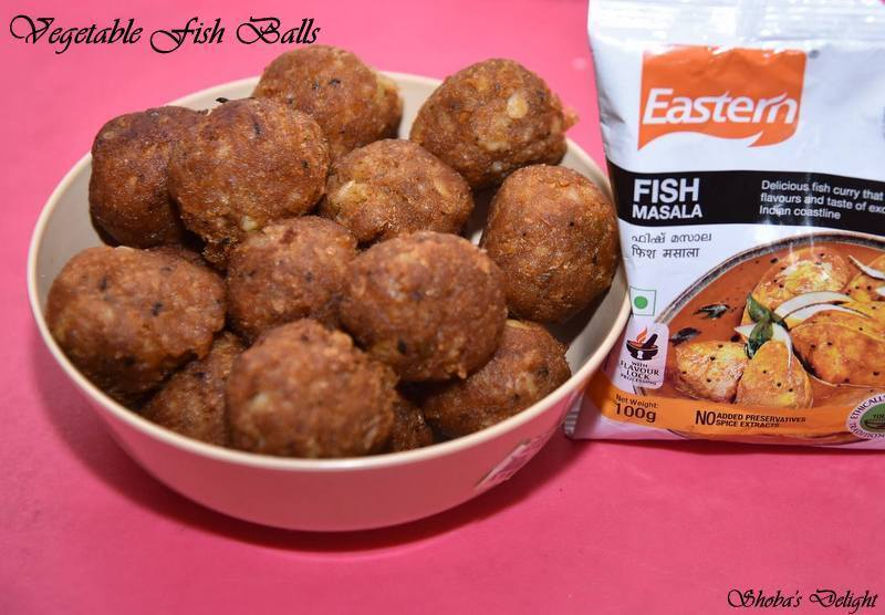 Vegetable Fish Balls