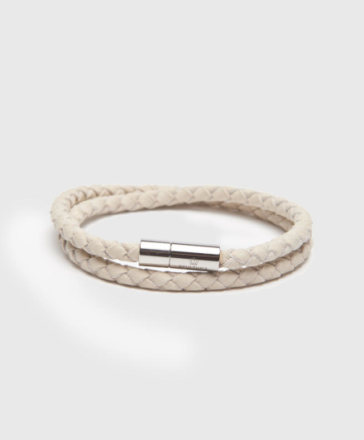 The Suede Bracelet White