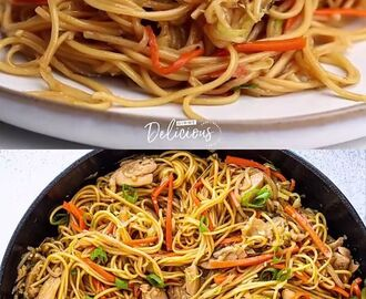 Chicken Chow Mein [Video] | Chicken recipes, Healthy recipes, Diy food recipes