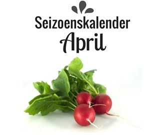 Seizoenskalender April