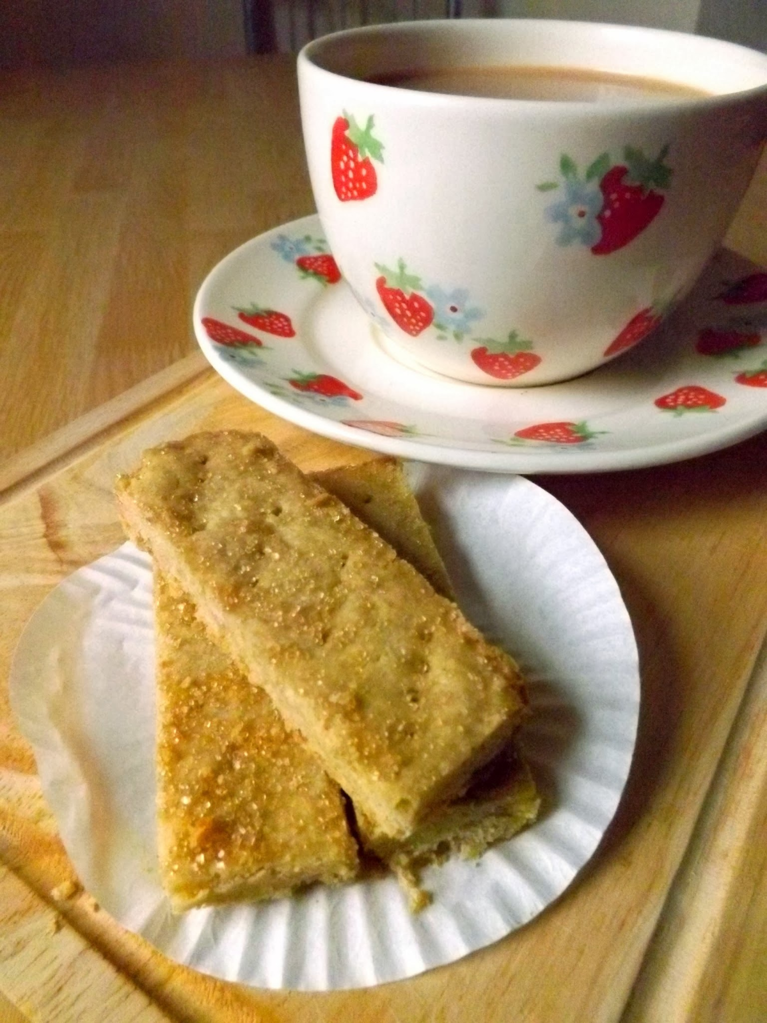Brown Sugar Shortbread - Guest Post