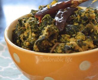 Scrambled Eggs with Spinach