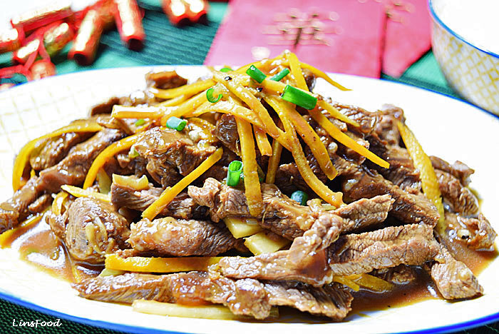 Chinese Beef in Orange Sauce