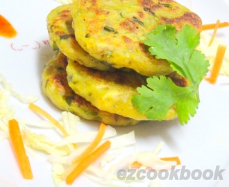 Kache kele Ka Cutlet ~ Fasting Recipe