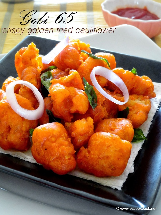 Gobi 65 | Crispy Golden Fried Cauliflower