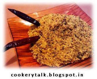Red Chutney (Peanut Garlic Chutney)