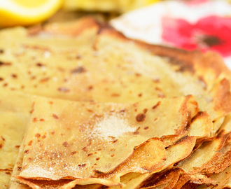 Pancakes for Shrove Tuesday or Pancake Day