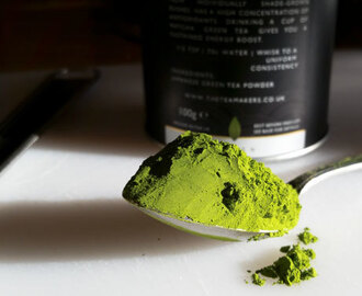 Cup of tea (cha) – matcha tea?