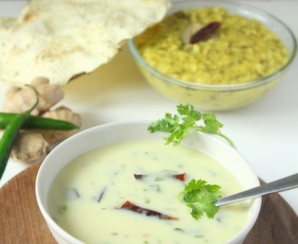 Gujarati Kadhi Recipe | How to make Gujarati Kadhi