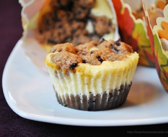 Cookie Dough Orange Cheesecake Muffins