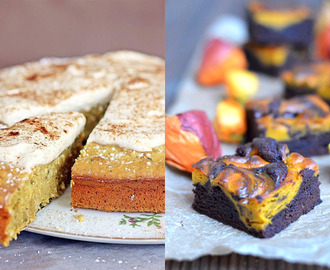 ♥ Do it twice – The Baking Challenge mit Life is full of Goodies {Spiced Pumpkin Brownies}