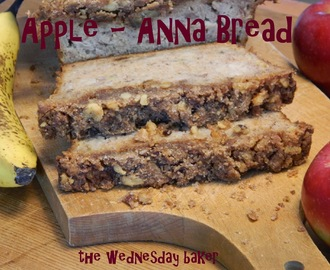APPLE-ANNA BREAD and HAPPY BIRTHDAY MS. MORGAN