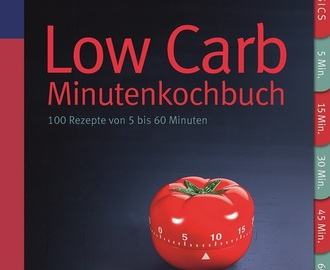 {Rezension} LOW CARB - Minutenkochbuch - Claudia Lenz