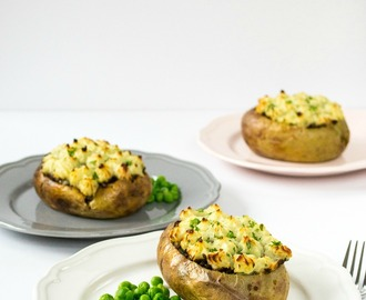 Recipe: Veggie Shepherds' Pie Jacket Potatoes