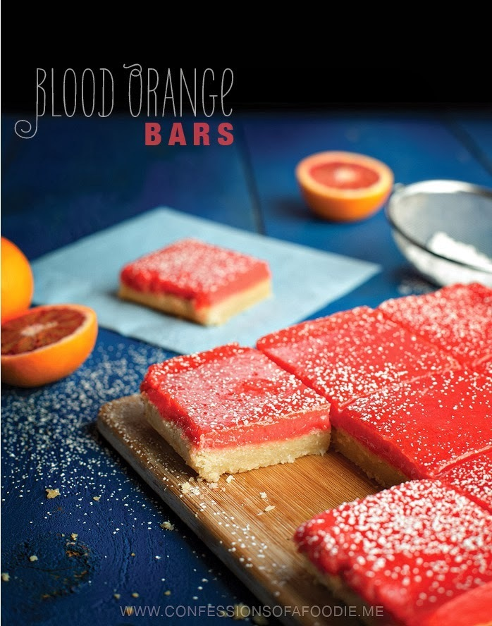 Blood Orange Bars: A ray of sunshine in the dead of winter