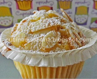 Muffin allo yogurt e mandorle