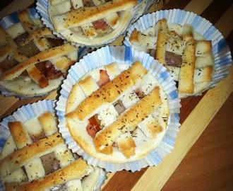 Finger Food: Crostatine di Pancarrè