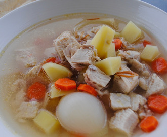 LEBANESE-STYLE CHICKEN SOUP RECIPE