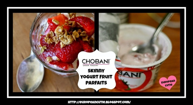 Chobani Greek Skinny Yogurt Fruit Parfaits ♥