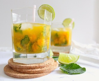 { Cocktail } Mojito à la mangue
