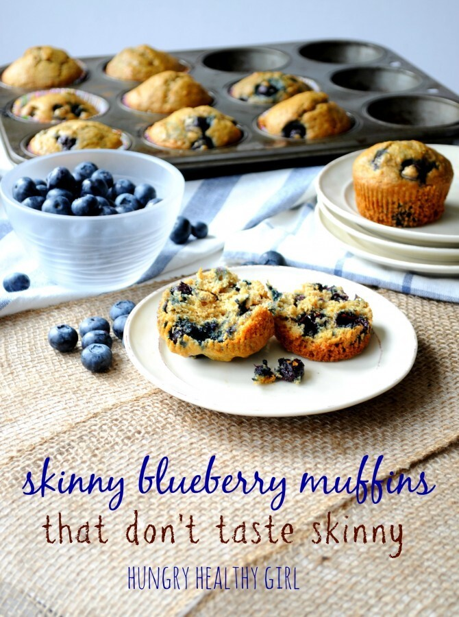 Skinny Blueberry Muffins and a Birthday Weekend