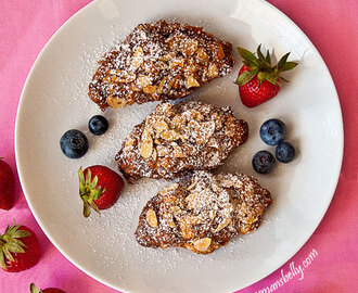 Twice Baked Almond Croissant Recipe
