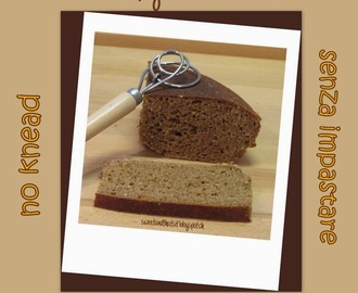 Batter Whole-Wheat Bread (no knead) - Pane Integrale velocissimo e senza impastare