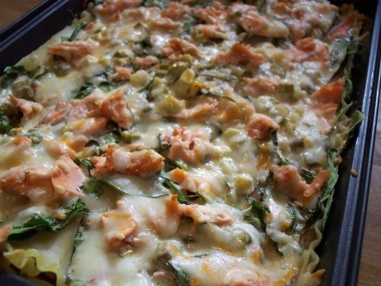 Lasagnes saumon épinards au thermomix