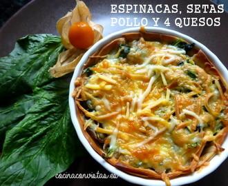 Recetas de cocinar espinacas de bolsa mytaste for Cocinar espinacas