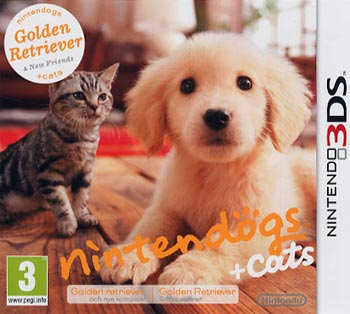 ;Nintendogs + Cats / Golden Retriever Select