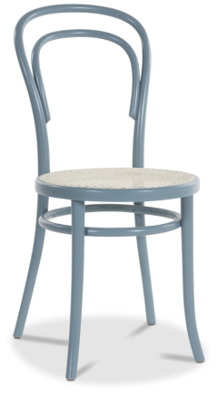 2 st Thonet No14 By Michael Thonet - Pastellblå