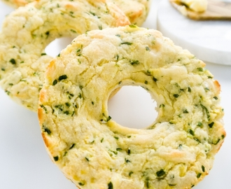 6-Ingredient Zucchini Bagels (Low Carb, Gluten-free)