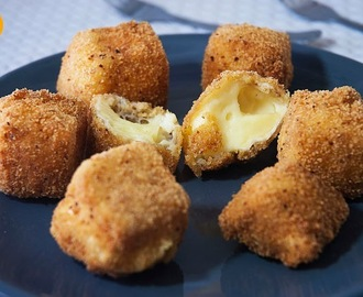 Bolas de Queso Fritas o Fried Cheeseballs